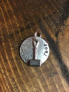 Thor Hammer Tag by PeartreeTags on Etsy