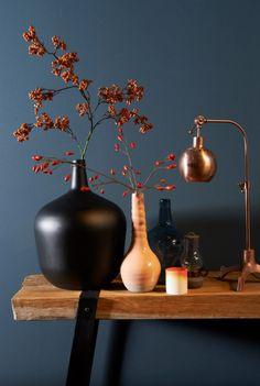 Stijl Studio Kopergloed | Eijerkamp | #kopertrend #vazen #interieur #inspiratie