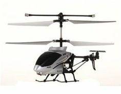 3-channel Alloy Infrared RC Helicopter with Gyroscope Camera (Silver) + Worldwide free shiping by China. $90.24. Also has video recording and camera shooting function. Forwards, backwards, ascends, descends, hovers, turn left and right, left and right drifting function. A great gift for kids. Model : 175;   Color: Silver;   Material: Alloy;   Type: Infrared remote control;   Channel: 3-channel;   Gyroscope: Supports;   Charging Time: About 60 minutes;   Flying Time: ...