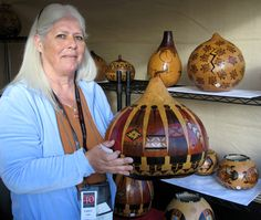 Native American Gourds Crafts | Tempe Festival of the Arts - Gourd Artist from Texas