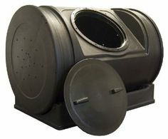 FOR MOM - Amazon.com: Good Ideas EZCJR-BLK 7-Cubic-Foot Compost Wizard Jr.: Patio, Lawn & Garden