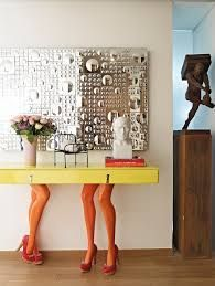 Bold and Unique Foch Downtown Residence by Vick Vanlian Design features a table made with mannequin legs  (scheduled via http://www.tailwindapp.com?utm_source=pinterest&utm_medium=twpin&utm_content=post77130194&utm_campaign=scheduler_attribution)