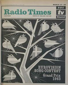 Eurovision Song Contest 1963 - Radio Times