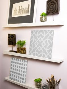 How to Build a Ledge Bookshelf | Home Decor Accessories & Furniture Ideas for Every Room | HGTV >> http://www.hgtv.com/design/decorating/furniture-and-accessories/how-to-build-a-ledge-bookshelf?soc=pinterest