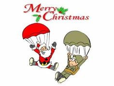 Merry Christmas and Happy Holidays from everyone at Para Gear!!! We especially would like to thank all of the brave men and women in Military service around the world!