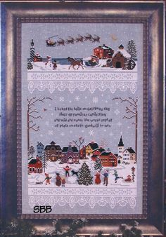 Victoria Sampler  75 Christmas Village