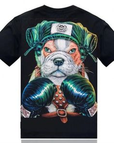 Boxing dog glow in the dark t shirt for men short sleeve Teen Boxing, 3d Dog, Teenage Guys, 3d T Shirts, Pet Dogs, The Darkest, Hiphop, Mens Tops, Glow