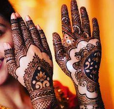 Bridal Mehndi For Full Hands