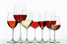 maridaje de vinos y copas
