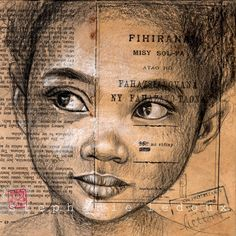 Les carnets de voyage de Stéphanie Ledoux: Pause croquis express dans un village en bord de piste - Madagascar