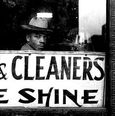 """Citation:'""""Simple"""" was a character that Langston Hughes used in his news column. Upon seeing the man in this photograph, Hughes said, """"That's him."""" South Side, Chicago, 1947.'    Photograph by Wayne Miller    Read more  www.newyorker.com..."""