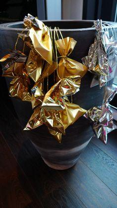 Adventskalender ★ 24 Beutel & Gold-Wickeldraht von PAULSBECK Buchstaben, Dekoration & Geschenke auf DaWanda.com