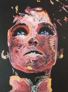 Edie Sedgwick by artist Matt Pecson