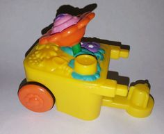 Fisher Price Little People Flower Cart Wheelbarrow Part Replacement in Toys & Hobbies, Preschool Toys & Pretend Play, Fisher-Price | eBay