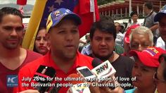 Motorcades trickled to western Caracas on July 28 to commemorate the 62nd birthday of former Venezuelan president Hugo Chavez, who died of cancer in March 2013.