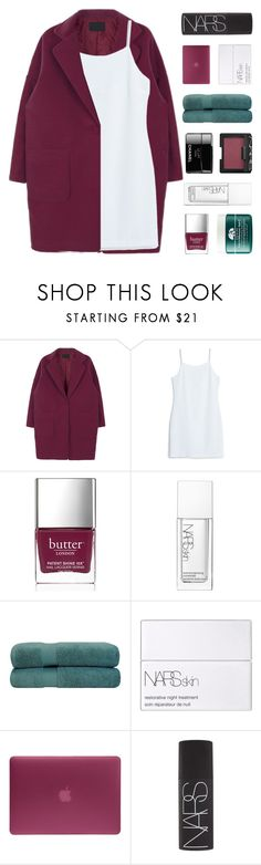 """""""☾ - Meteor showers by the pool"""" by sunstorms ❤ liked on Polyvore featuring MANGO, Butter London, NARS Cosmetics, Origins, Superior and Incase"""