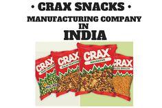 Crax Snacks & Namkeen - DFM Foods
