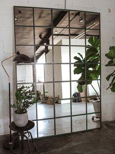 Home Decor — The Sorry Girls Industrial Mirrors, Ikea, Diy Decor, Diy Home Decor, Home Diy, Diy Table Top, Ikea Mirror, Diy Furniture, Ikea Diy