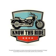 Free your spirit and design a vintage Motorcycle logo for a killer new website!
