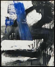 Michael Goldberg Untitled, 1960 Oil and paper mounted to canvas 17 x 13 3/4 x inches