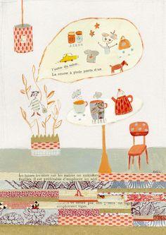 une belle journée d'automne – Anzil, Artiste Illustratrice