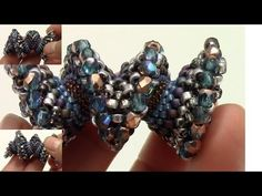 Puntada Cellini Spiral Reversible (Bisuteria) - YouTube