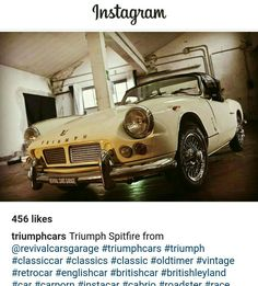 Early Triumph Spitfire