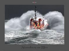 Poster photo Sauveteurs en mer Philip Plisson