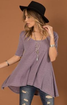 These is such a darling outfit! It's so casual, and it looks like it would be pretty comfortable to wear. The jewelry is a great addition, the necklace is really cute. However, my favorite part would have to be the hat, it really tops it off.
