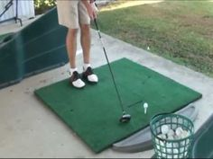 Golf Drill: Step into it!