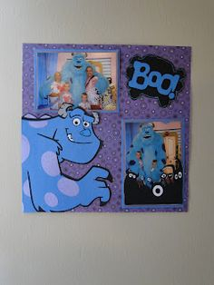 Cute Monsters Inc page