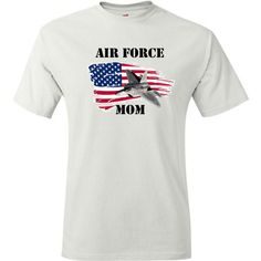 Air Force Mom Tshirt. by PinkPigPrinting on Etsy