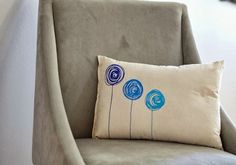 Artwork Pillow: Homemade Christmas Gifts