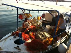 Thanasis fisherman koroni Greece