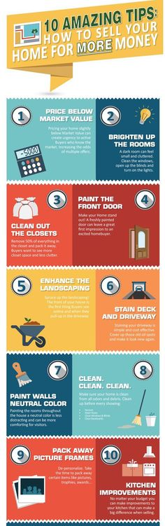 Most of these amazing tips may be common sense but I'm sure the first one is shocker for some #homeowners and #sellers! It's true, pricing your home below #market price almost always makes you the most money, gets you the most buyer traffic, and usually sells your home the quickest! Let's talk today about even more strategies we can do to #getyourhomesold today!