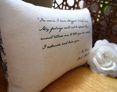 Jane Austen-Pride and Prejudice'Mr Darcy's by annastrunk on Etsy