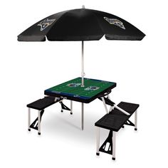 The Los Angeles Rams portable folding Picnic Table