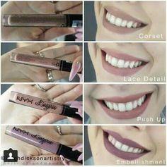 Suede Lipstick Lingerie 2k16 Nyx Cosmetics