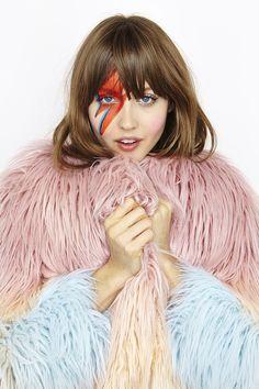 Ziggy Stardust Makeup
