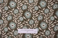 Fabric by the Yard :: Premier Prints Fenton Cotton Drapery Fabric in Village Blue/Natural $7.48 per yard - Fabric Guru.com: Fabric, Discount...