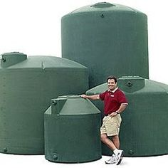 Large water storage tanks