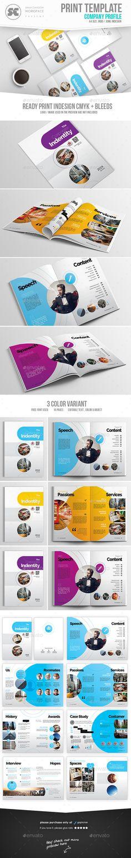 #Company Profile - Corporate #Brochures Download here: https://graphicriver.net/item/company-profile/19728629?ref=alena994