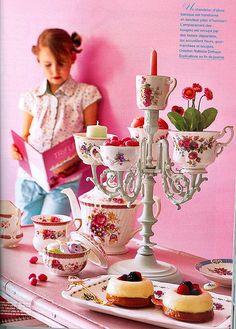 Candlesticks and Teacups