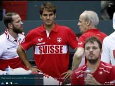 Davis Cup play Sept 2015 RF and Stan won their matches to take Suisse to next series of matches.