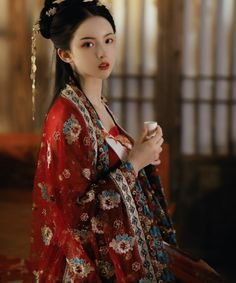 Traditional Fashion, Traditional Dresses, Chinese Dress Traditional, Oriental Fashion, Asian Fashion, China Girl, Chinese Clothing, Mode Hijab, Hanfu