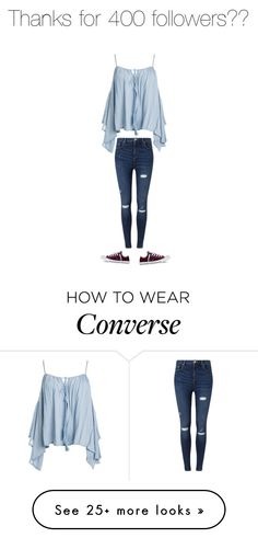 """""""Untitled #375"""" by kylie897 on Polyvore featuring Sans Souci, Miss Selfridge and Converse"""
