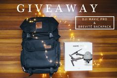 Enter to win Brevite's DJI Mavic Pro Drone camera and Brevite backpack giveaway! Ends December 19, 2016