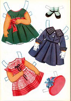 Sally the City Girl Doll Book, 1963 Lowe #1854 (7 of 8) |   bonecas de papel, paper doll, muñecas de papel