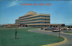 Sheppard Air Force Base USAF Hospital Texas -Where I trained for medical tech school Air Force Bases, Us Air Force, Wichita Falls, Texas Travel, Military Life, Before Us, Places Ive Been, Goose Bay, Texas Forever