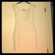 White dress, new with tag Cute dress, brand new! Dresses